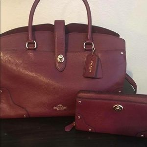 Coach Mercer purse and wallet