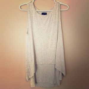 Double layer high-low Tunic - The Limited