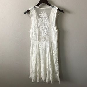 *Free People* Reign Over Me Lace Dress