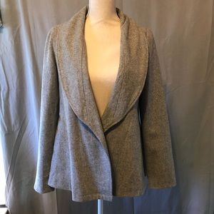 Moon Collection Gray Blazer Jacket