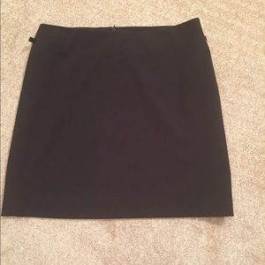 Express-above the knees skirt