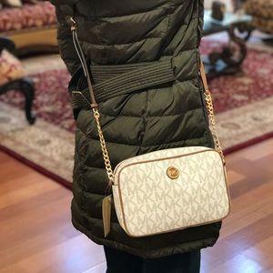 Authentic Michael kors Fulton crossbody handbag