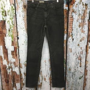 AG Dark Gray The Premiere Skinny Straight Jeans