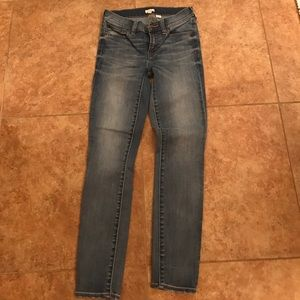 Beautiful new condition J. Crew skinny jeans