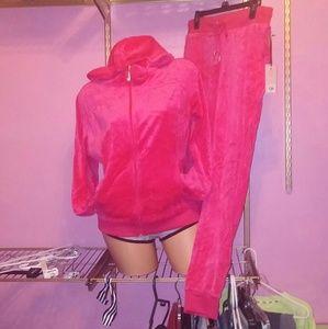 Juicy Couture Velour Set Medium NWT
