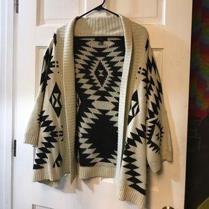 Forever 21 tribal sweater