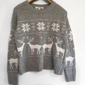 Forever 21 Reindeer Sweater