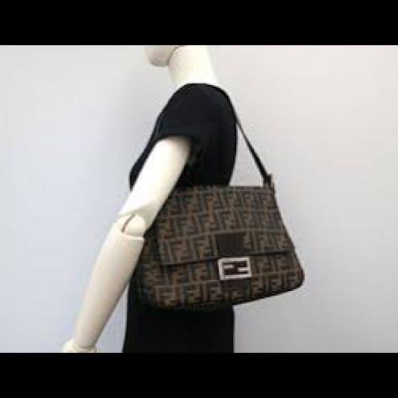 f4338f22f362 Fendi Handbags - Fendi Mama Zucca Bag