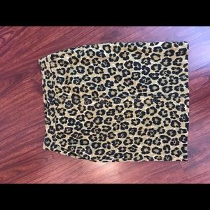 Ralph Lauren Cheetah Pencil Skirt Animal Print