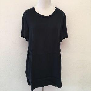 Phillip Lim 3.1 Black Short Sleeve Tunic size 4