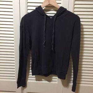 GAP Fit Cropped Hooded Sweatshirt