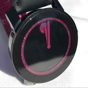 💝MOVADO limited edition Swarovski Breast Cancer