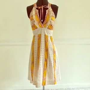 Free People halter dress
