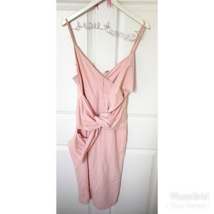 """In Knots"" Blush Pink ASOS Dress"