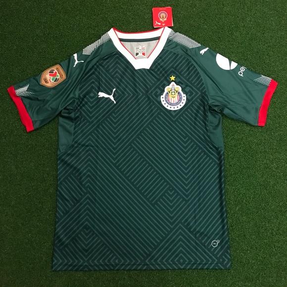 half off 295d5 4fce6 CHIVAS Guadalajara Jersey Retro Coca Cola Soccer Jersey