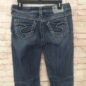 • Silver Suki • Straight Leg Jeans Size 29 x 34