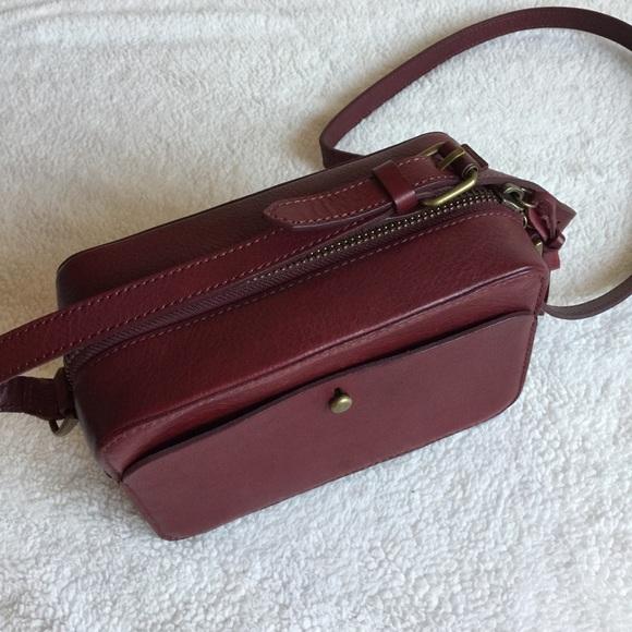NWT Madewell leather crossbody camera bag 0c21d06d013f9