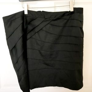"""""""Silk Bondage"""" Forever21+ Silk Skirt"""
