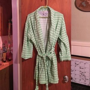 Tommy Hilfiger striped robe sz XL