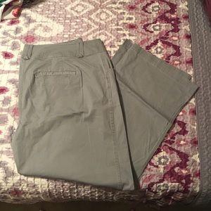 Lane Bryant Size 22 gray pant