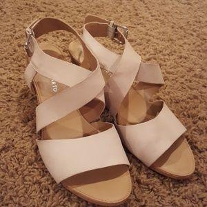 Franco Sarto Strappy Sandals size 10