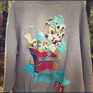 Rare Vintage 101 Dalmatians Crewneck Sweatshirt
