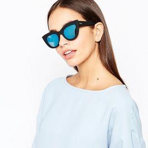 Quay Kitti Black Matte Sunglasses
