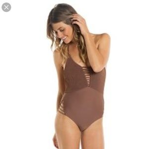Tori Praver One Piece Swimsuit