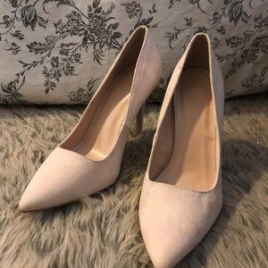 Charlotte Russe Light Pink Heels