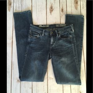 Madewell Rail Straight Size 24 Jeans