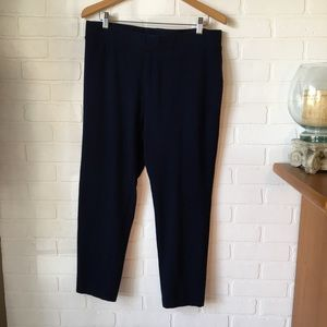 Talbots navy blue leggings 1Xp