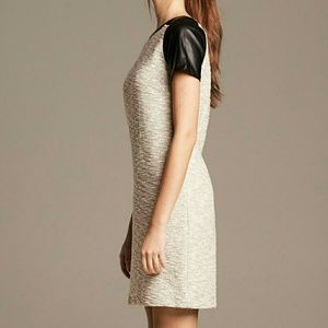 Heritage Collection Tweed Dress with black sleeves