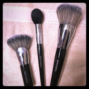 3x Sephora Makeup Brushes (Perfect Condition)
