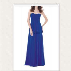 Bill Levkoff 482, Black Strapless Evening Gown