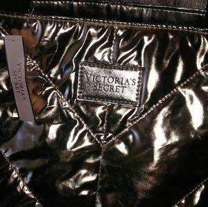 Tote Victoria's Secret gold tote NWT