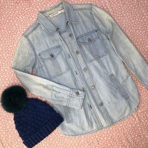 Isabel Marant Denim Shirt Jacket