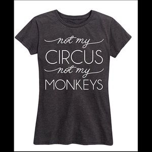 'Not My Circus' Relayed-fit Tee