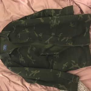 Pull and bear army jacket.