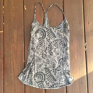 ☀️EUC Urban Outfitters Floral Paisley Tank Top