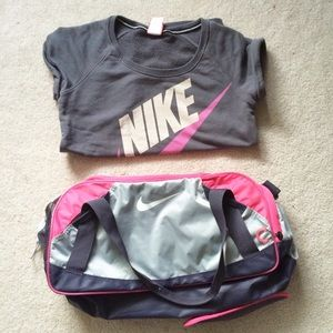 8ffcf223ea9 Nike Bags   Varsity Girl 20 Medium Duffel Bag   Poshmark