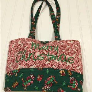 Handmade Merry Christmas purse
