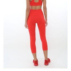 Touché LA electric red leggings