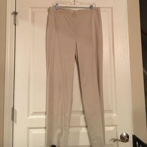 JONES NEW YORK beige dress slacks