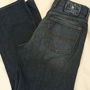 Lucky Brand dungarees straight leg size 32