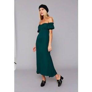 NWTS stone cold fox dean dress evergreen 1