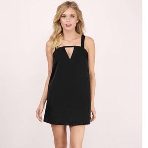 "Tobi ""Karli"" Black Shift Dress"