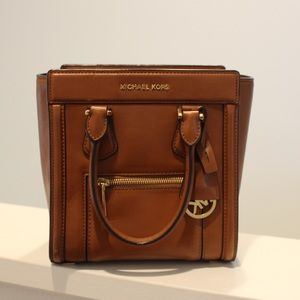 Michael Kors Brown Colette medium satchel