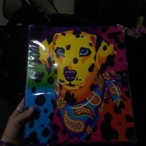 Lisa Frank binder