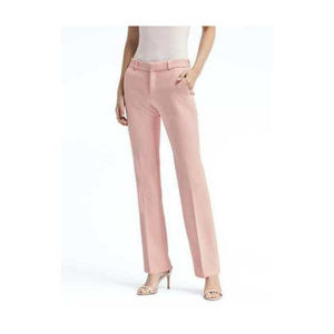 BANANA REPUBLIC Logan Pink Pants Work Trousers 8