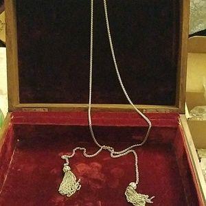 Premier designs tassel necklace